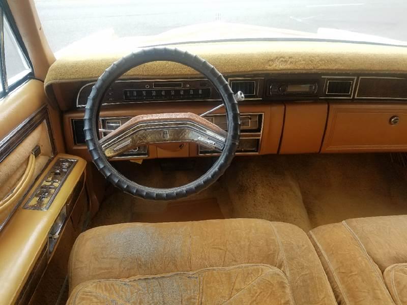 1977 Lincoln Continental for sale at Five Star Auto Center in Detroit MI