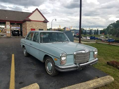1971 Mercedes-Benz 250 for sale at Five Star Auto Center in Detroit MI