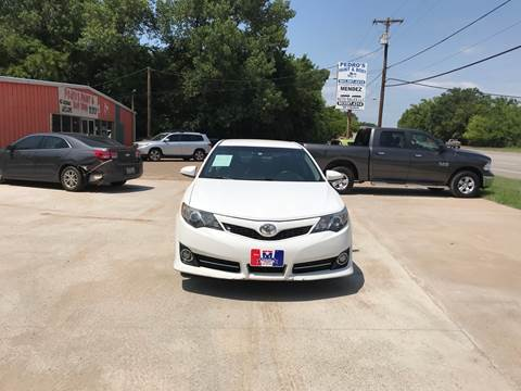 2014 Toyota Camry for sale at MENDEZ AUTO SALES in Tyler TX