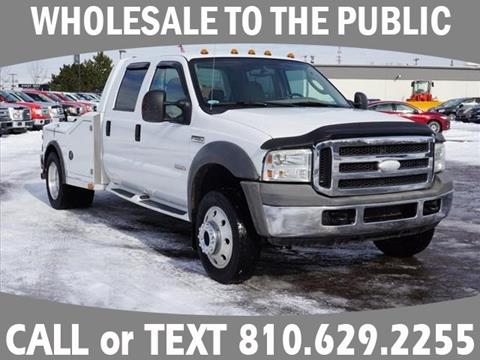 2005 Ford F-450 Super Duty for sale in Grand Blanc, MI