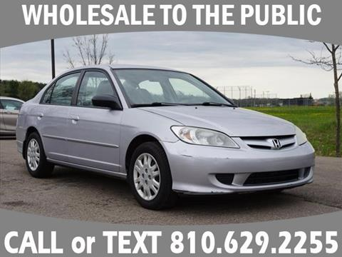 2005 Honda Civic for sale in Grand Blanc, MI