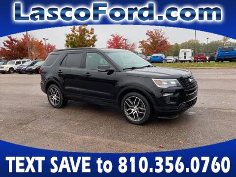 2018 Ford Explorer for sale at Lasco of Grand Blanc in Grand Blanc MI