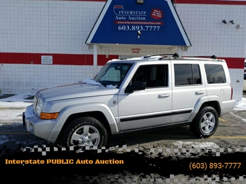 2007 Jeep Commander for sale in Salem, NH