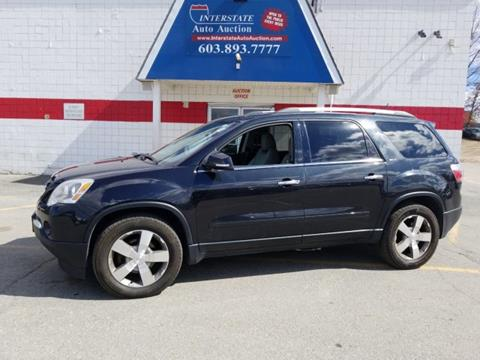 2012 GMC Acadia for sale in Salem, NH