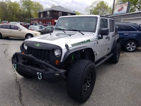 2007 Jeep Wrangler Unlimited for sale in Salem, NH