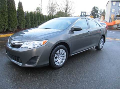 2013 Toyota Camry for sale at Prudent Autodeals Inc. in Seattle WA