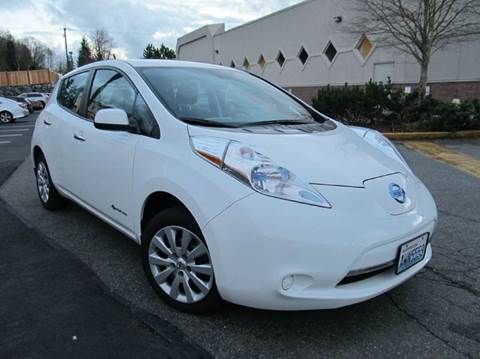 2013 Nissan LEAF for sale at Prudent Autodeals Inc. in Seattle WA