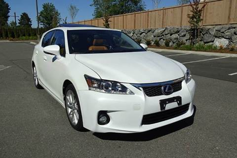 2013 Lexus CT 200h for sale at Prudent Autodeals Inc. in Seattle WA