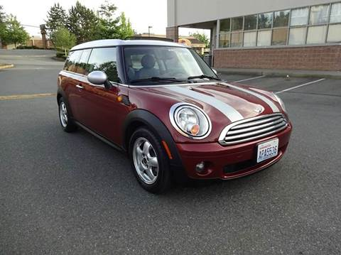 2010 MINI Cooper Clubman for sale at Prudent Autodeals Inc. in Seattle WA