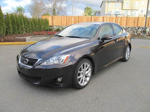 2012 Lexus IS 250 for sale at Prudent Autodeals Inc. in Seattle WA