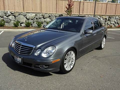 2008 Mercedes-Benz E-Class for sale at Prudent Autodeals Inc. in Seattle WA