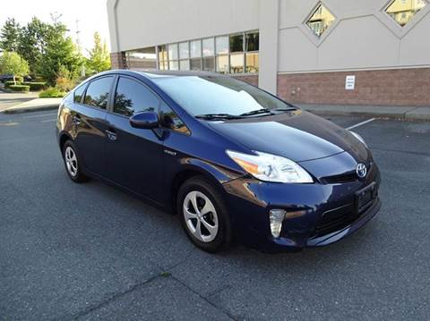 2013 Toyota Prius for sale at Prudent Autodeals Inc. in Seattle WA