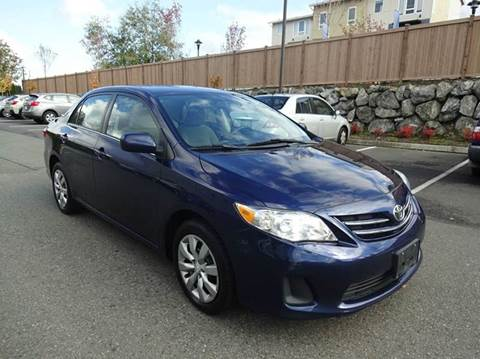 2013 Toyota Corolla for sale at Prudent Autodeals Inc. in Seattle WA