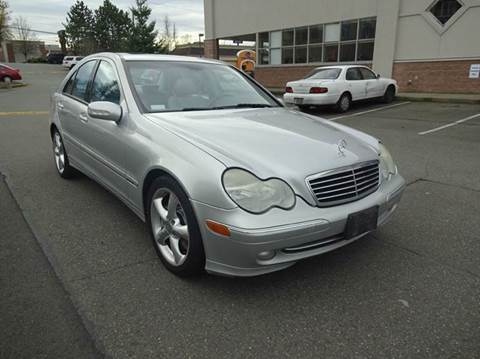 2004 Mercedes-Benz C-Class for sale at Prudent Autodeals Inc. in Seattle WA