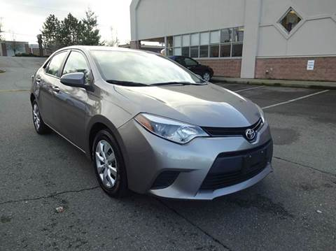 2014 Toyota Corolla for sale at Prudent Autodeals Inc. in Seattle WA