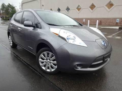 2014 Nissan LEAF for sale at Prudent Autodeals Inc. in Seattle WA