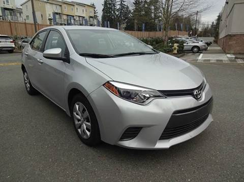 2015 Toyota Corolla for sale at Prudent Autodeals Inc. in Seattle WA
