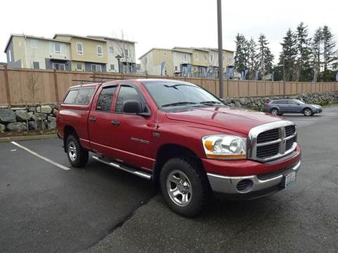 2006 Dodge Ram Pickup 1500 for sale at Prudent Autodeals Inc. in Seattle WA