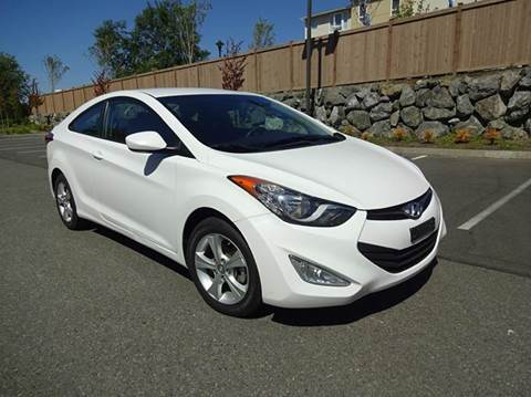 2013 Hyundai Elantra Coupe for sale at Prudent Autodeals Inc. in Seattle WA