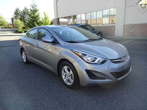 2014 Hyundai Elantra for sale at Prudent Autodeals Inc. in Seattle WA