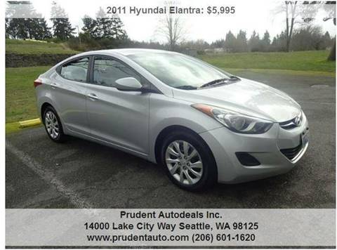 2011 Hyundai Elantra for sale at Prudent Autodeals Inc. in Seattle WA