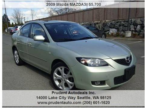 2009 Mazda MAZDA3 for sale at Prudent Autodeals Inc. in Seattle WA