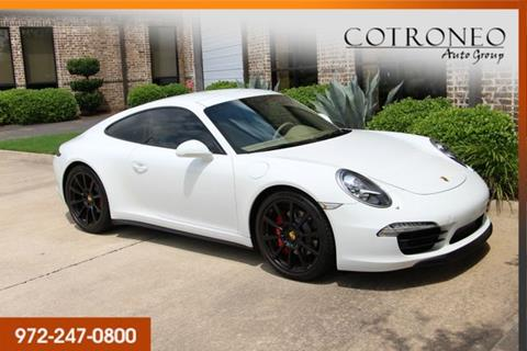 2015 Porsche 911 for sale in Addison, TX