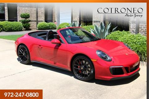 2018 Porsche 911 for sale in Addison, TX