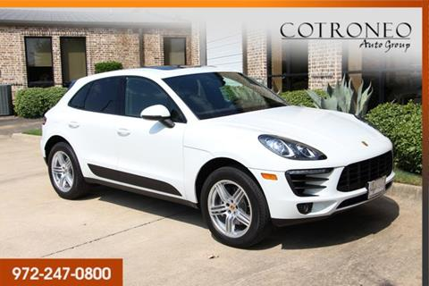 2017 Porsche Macan for sale in Addison, TX