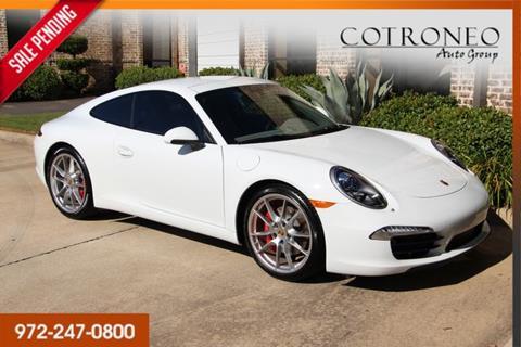 2013 Porsche 911 for sale in Addison, TX