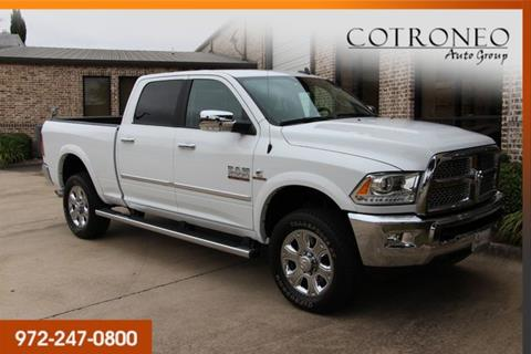 2017 RAM Ram Pickup 2500 for sale in Addison, TX