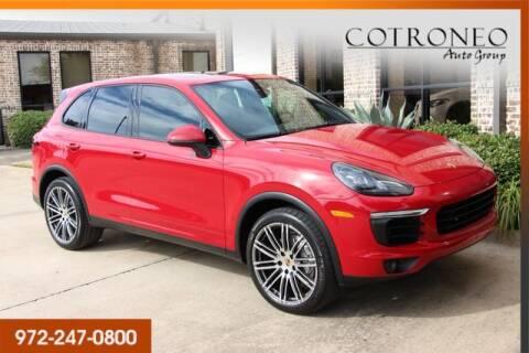 2015 Porsche Cayenne for sale in Addison, TX