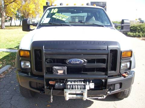 2010 Ford F-450 Crew Cab DRW Diesel 4X4 for sale in Fort Lupton, CO