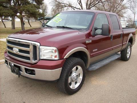 2006 Ford F-250 Super Duty for sale at EVANS AUTO SERVICE & SALES in Fort Lupton CO