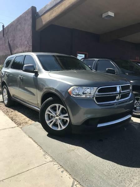 2012 Dodge Durango 4drs In Yuma AZ - CURIEL'S AUTO SALES LLC