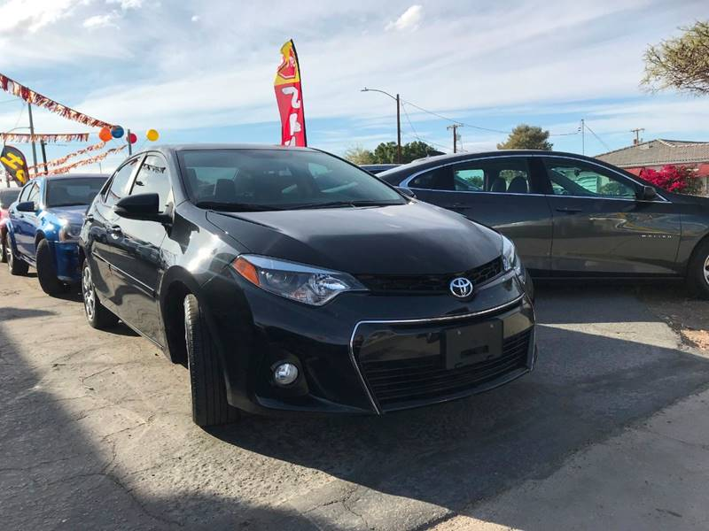 2016 Toyota Corolla LE 4dr Sedan In Yuma AZ