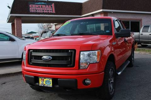2013 Ford F-150 STX for sale at Central 1 Auto Brokers in Virginia Beach VA