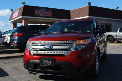 2014 Ford Explorer for sale at Central 1 Auto Brokers in Virginia Beach VA