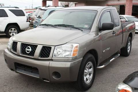 2006 Nissan Titan XE FFV for sale at Central 1 Auto Brokers in Virginia Beach VA