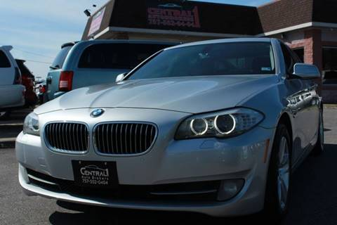 2012 BMW 5 Series 528i for sale at Central 1 Auto Brokers in Virginia Beach VA