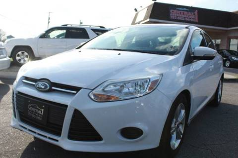 2014 Ford Focus SE for sale at Central 1 Auto Brokers in Virginia Beach VA
