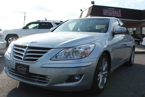 2010 Hyundai Genesis 4.6L V8 for sale at Central 1 Auto Brokers in Virginia Beach VA