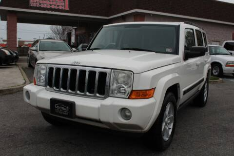 2008 Jeep Commander Sport for sale at Central 1 Auto Brokers in Virginia Beach VA