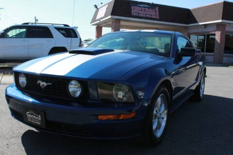 2008 Ford Mustang GT Deluxe for sale at Central 1 Auto Brokers in Virginia Beach VA
