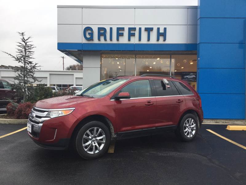 Ford Edge Awd Limited Dr Crossover In Neosho Mo Griffith Motor Company
