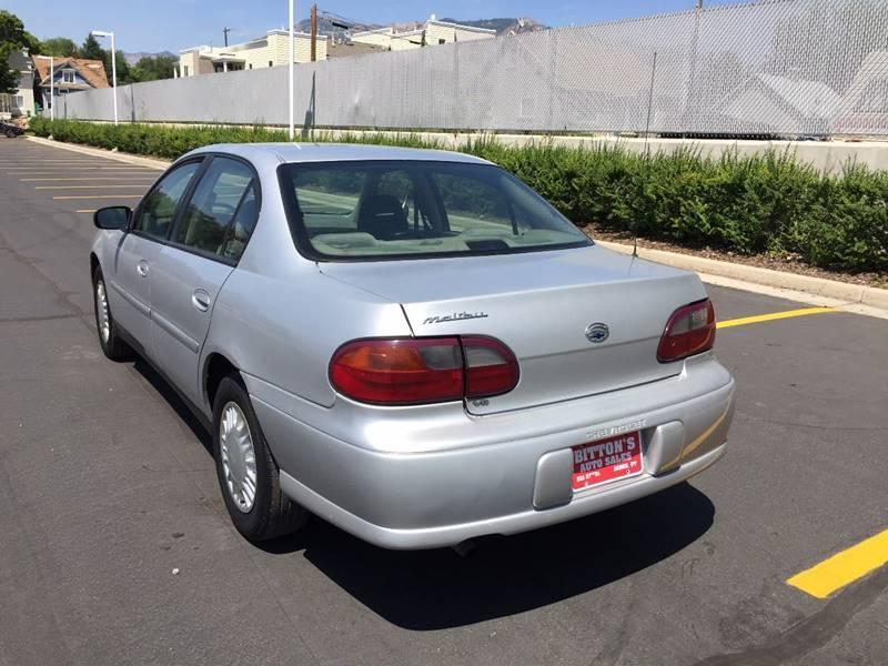 2002 Chevrolet Malibu 4dr Sedan - Ogden UT