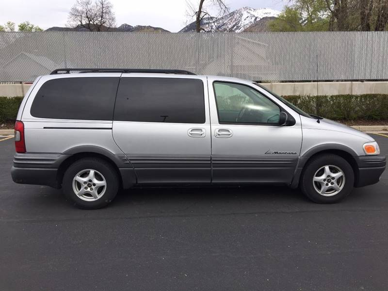 2003 Pontiac Montana Value 4dr Extended Mini-Van - Ogden UT