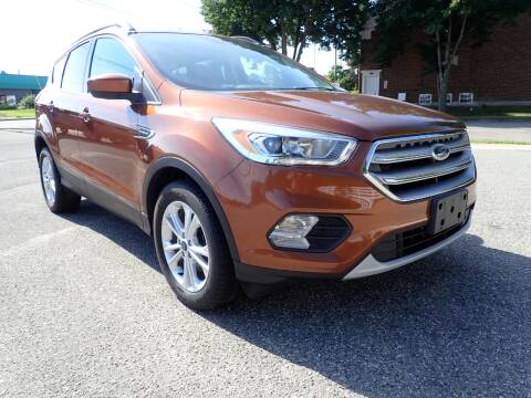 2017 Ford Escape for sale at Marvel Automotive Inc. in Big Rapids MI