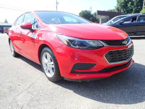 2017 Chevrolet Cruze for sale at Marvel Automotive Inc. in Big Rapids MI