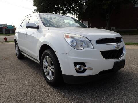 2013 Chevrolet Equinox for sale at Marvel Automotive Inc. in Big Rapids MI